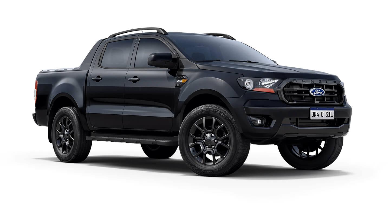 Ford Ranger 2022 Black