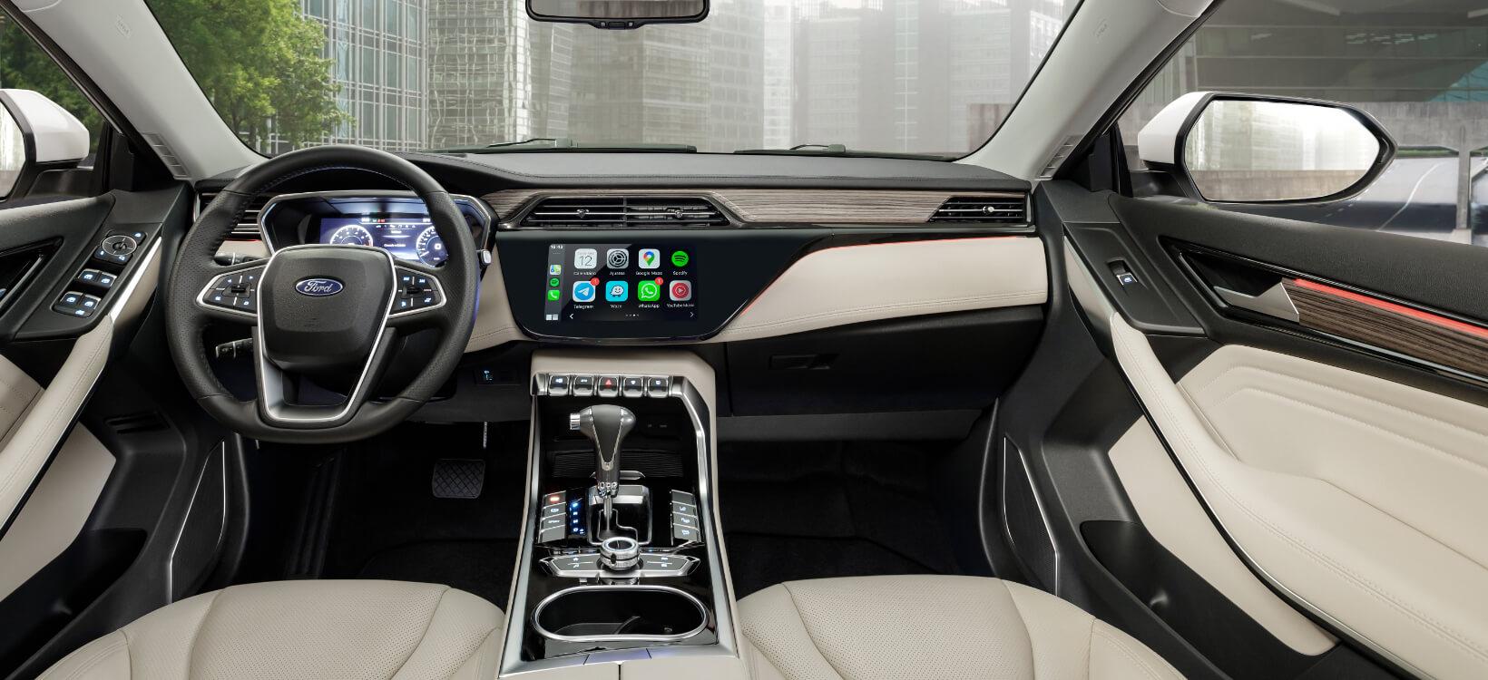 Foto de conectividade do novo Ford Territory 2021